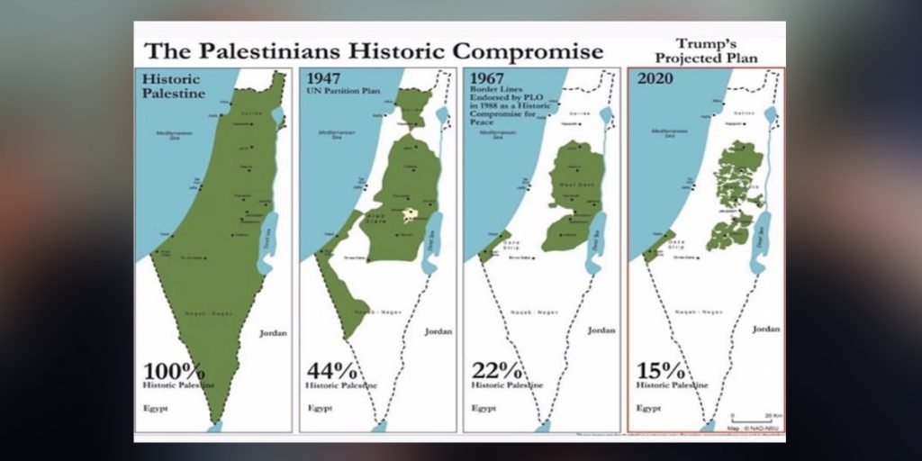 The fragmentation of Palestine in the on-going 'Grand Strategy'